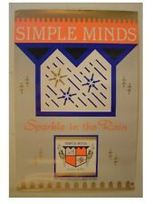 The Simple Minds Poster Sparkle In The Rain Old