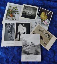alte AK / Postkarten - 8 Stück - Glückwunschkarten 1940er / 1950er  (S59