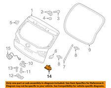 KIA OEM 14-16 Forte Koup Liftgate Tailgate Hatch-Release Handle 812601M500