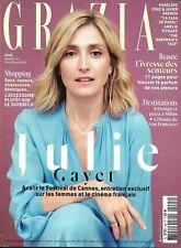 GRAZIA n°445 04/05/2018  Julie Gayet/ HandMaid's Tale/ Social Lab cartier/ Cruz