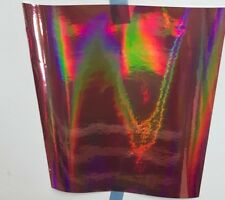 ROSE GOLD Rainbow Oil Slick Holographic Sign Vinyl 12 inch x 10 Feet, Iridescent