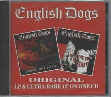 ENGLISH DOGS -TO THE ENDS OF THE EARTH / FORWARD..-(still sealed cd)-STEP CD 041