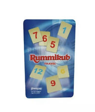 ORIGINAL RUMMIKUB  TIN TRAVEL GAME 2-4 PLAYERS AGES 8 TO ADULT Factory Sealed