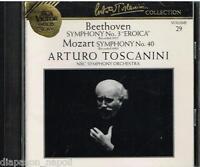 Toscanini Collection Vol. 29 - Mozart : Symphonie N.3 ; Sinfonia N.40 CD
