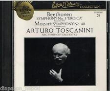 Toscanini Collection Vol. 29 - Mozart:  Sinfonia N.3; Mozart: Sinfonia N. 40 CD