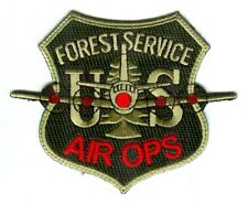 United States Forest Service USFS Air Ops Forest Fire Wildfire Wildland Patch Wa