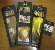 3 x Balmain Paris Double Hair Volume Colour 30cm extension 3pcs Gold / Orange