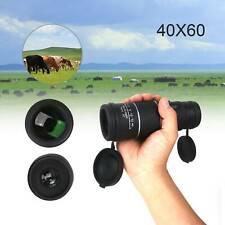 Telescope 40x60 HD Day Night Vision Handheld Optical Monocular Hunting Camping