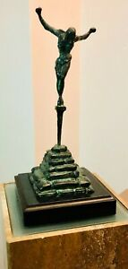 Salvador Dali, Christ of St. John Of The Cross Bronze Sculpture