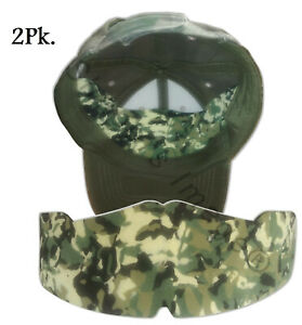 Camouflage Caps Crown Inserts  Hat Liner  Military Hat Shaper  Hat Form Padding