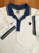 Nike Men's Vintage Vtg Collared Polo Shirt Golf Tennis Size Sz Small S White