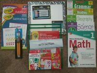 1st First Grade: Homeschool Curriculum Grammar, Math, Reading, Science  History