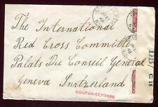 Canada -Enveloppe de Granville Ferry pour la Suisse en 1942 avec contrôle postal