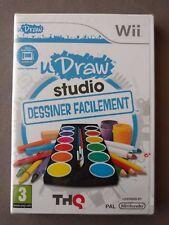 uDRAW STUDIO Dessiner facilement pour Nintendo Wii  ** NEUF ** Instant Artist