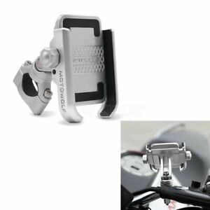 LWKDDT Silver Motorcycle Cell Phone Holder For Harley-Davidson Road Glide FLTRX