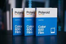 Lot Of Polaroid Color Film for 600 3-Pack, 24 Photos Bulk