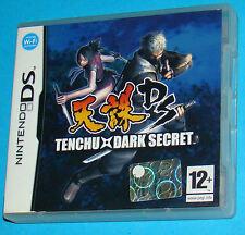 Tenchu Dark Secret - Nintendo DS NDS - PAL