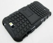 Black Heavy Duty Strong Tradesman Case Cover for Samsung Galaxy Note 2 LTE 4G