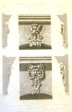 Cesar Daly's Motifs -1869- CLEFS DE PORTE A TOULOUSE