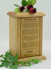 Medium Rainbow Bridge Pet Cremation Urn/Dog Cat Urns