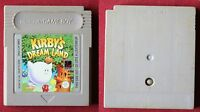 Nintendo Gameboy   jeu KIRBY'S DREAM LAND en très  bon  état