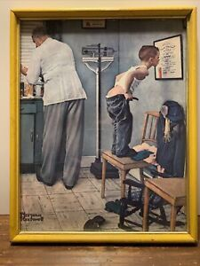 norman rockwell before the shot litho 1972