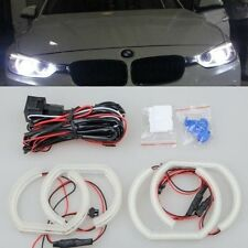 4x WHITE Led SMD 6000k ANGEL EYE RINGS Halo light For BMW E92 coupe 2007-2010