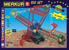 MERKUR M5 Big Metal Construction Erector Set Czech Meccano 4kg 8.5lbs NEW MIB @