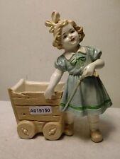 +# A015150 Goebel Archiv Muster Cortendorf Vase Mädchen mit Wagen, krakeliert