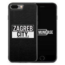 iPhone 7 Plus - Hülle SILIKON Case Zagreb CITY Kroatien Hrvatska Cover Schale