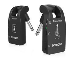 Système sans fil pour Guitare Basse 2,4 G émetteur et récepteur rechargeables