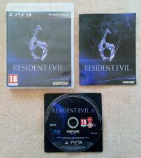 Resident Evil 6  PS3 / versions francaise / b.r sans éraflure