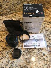 Panasonic 12-35mm f/2.8 II ASPH. O.I.S. Lumix G X Vario Mount Micro 4/3