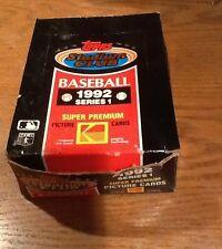 1992 Topps Stadium Club Baseball Series 1 - 26 Packs