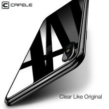Cafele Back Rear Tempered Glass Screen Protector Film Cover Guard for iPhone X