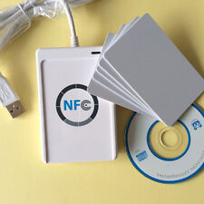 ACR122U-A9 RFID Smart NFC Reader Writer+SDK&5*MF Cards For MAC Android Linux OS