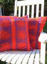 """NEW Ikea LAPPLJUNG Reversible Cushion Pillow Cover Vibrant Red Lilac 20 X 20"""""""