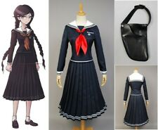 Danganronpa Toko Touko Fukawa Cosplay Costume Dress High School Uniform