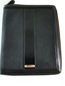 Burberry Case Ipad Black Leather Tech Cover