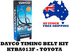 Dayco KTBA013F Timing Belt Kit - Holden Apollo - Toyota Camry, Celica, RAV-4