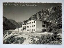 AURONZO DI CADORE Casa Madonna della Neve Belluno vecchia cartolina