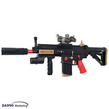 Electric Assault Rifle Toy Gun Shooting Soft Bullets Crystal Water Gel Ball