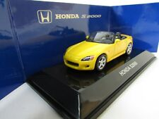 AUTOART 1/64 HONDA S2000 YELLOW LHD MEGA RARE n TAMIYA,WITH TRACKING NUMBER