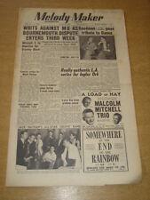 MELODY MAKER 1950 JUNE 17 CYRIL STAPLETON JACK NATHAN MITCHELL TRIO WOOLF +