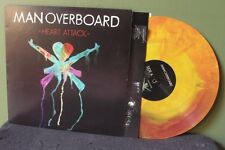 """Man Overboard """"Heart Attack"""" LP NM The Wonder Years Fireworks 2"""