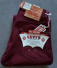 Herren Jeans LEVIS LEVI´S Vintage Clothing 1967 505 Pre-shrunk Big E W28 L34
