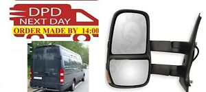 Wing Mirror Unit Left Side IVECO Daily 2006 APR to 2014 LONG ARM
