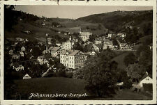 Johannesberg Janov nad Nisou Tschechien Česká Böhmen ~1940 Stadtansicht gelaufen
