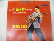 """Duane Eddy  Have """"Twangy """" Guitar will Travel LP red cover stereo"""