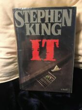 Stephen King It Hardback Second Printing August 1986 With Jacket Sleeve